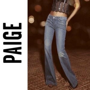 Paige Fiona Flare Jeans Size 30